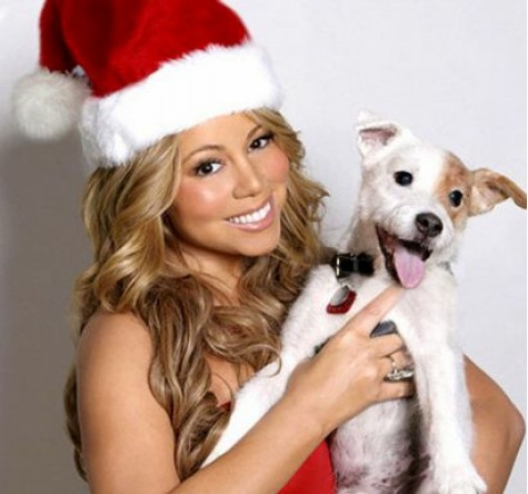 mariah xmas Mariah Carey Prepares For Christmas Album