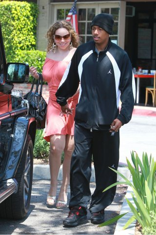 mcc2 Hot Shots: Mariah Carey & Nick Cannon Beverly Hills