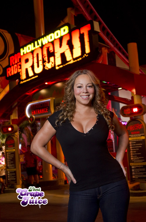 mimi3 Hot Shot: Mariah At Universal Studios Florida