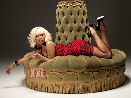 nicki sprawl feat Nicki Minajs Marilyn Monroe XXL Shoot