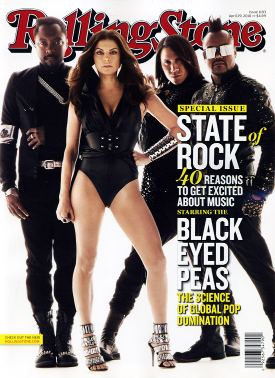 peas The Black Eyed Peas Cover Rolling Stone