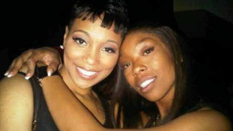 Hot Shot: Brandy & Monica Party In Miami