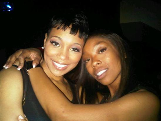 that1 Hot Shot: Brandy & Monica Party In Miami