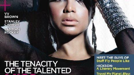 Toni Braxton Covers Bleu Magazine