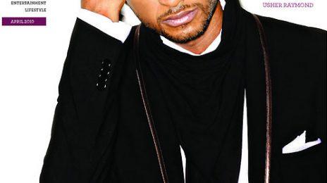 Hot Shot: Usher Covers 944 Atlanta