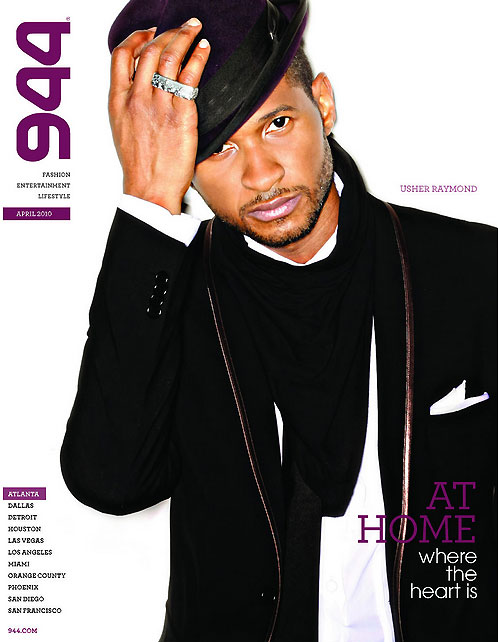 usha944 Hot Shot: Usher Covers 944 Atlanta