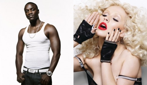xtina akon e1271193334269 Akon: Christina Is Copying GaGa