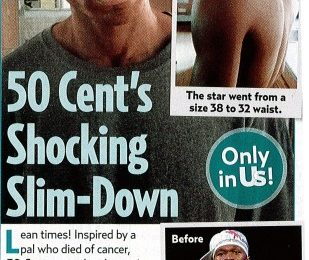 50 Cent Loses 54lbs For Movie Role