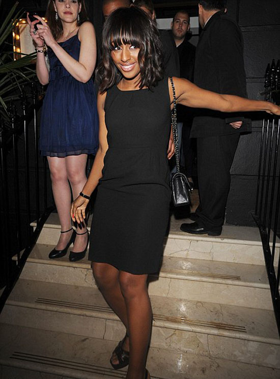 alex 55 Hot Shots: Alexandra Burke Steps Out With new Boyfriend?