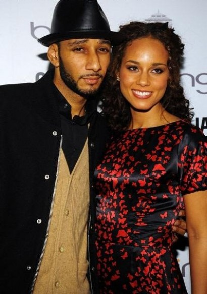 alicia swizz e1275034009545 Rep: Alicia Keys IS Pregnant; Will Marry Swizz Beats
