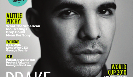 Hot Shot: Drake Cover's Billboard Magazine