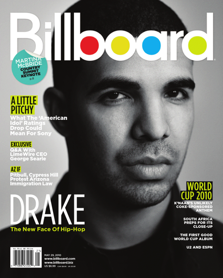 bill Hot Shot: Drake Covers Billboard Magazine