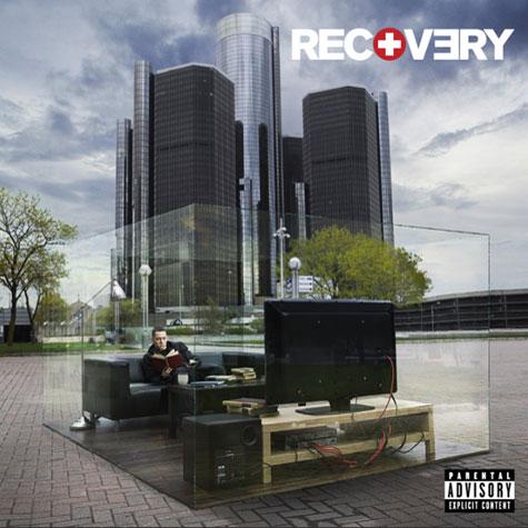 em1 Eminem Unveils Recovery Artwork
