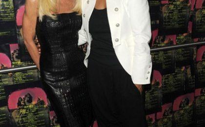 Hot Shots: Janet Jackson At Versace Show