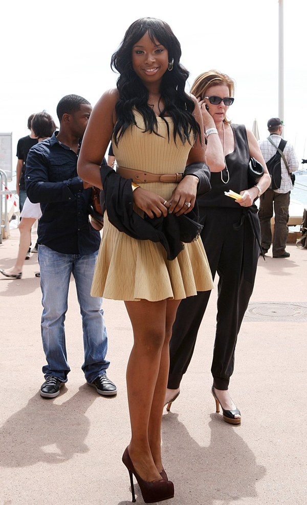 jhslim Hot Shot: A Slender Jennifer Hudson Wows Cannes
