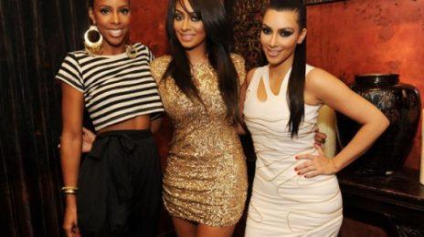Hot Shots: Kelly Rowland At LaLa's Bachelorette Party