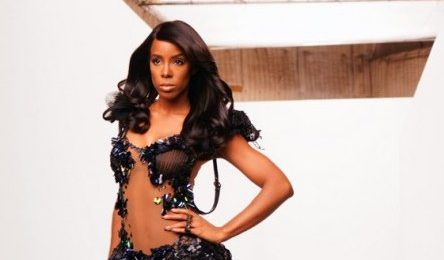 Kelly Rowland In The Studio...