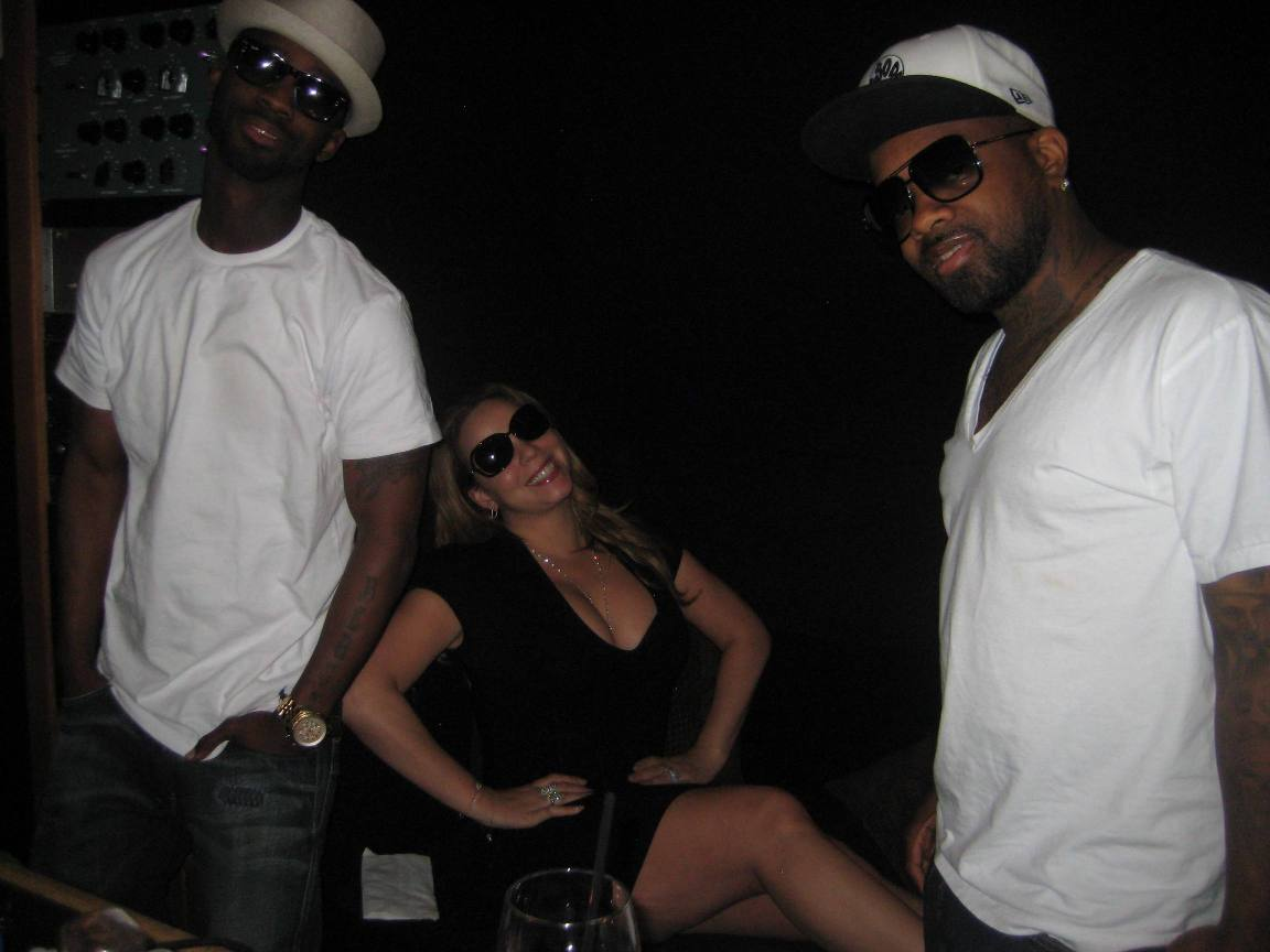 mariahjdbmcox Jermaine Dupri, B. Cox & Randy Jackson Talk New Mariah Carey Album: Were Going To Make History
