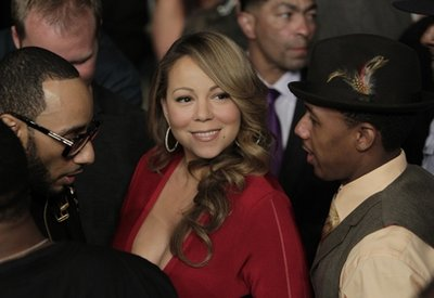mariahnick Hot Shot: Mariah Carey, Nick Cannon & Swizz Beatz In Vegas