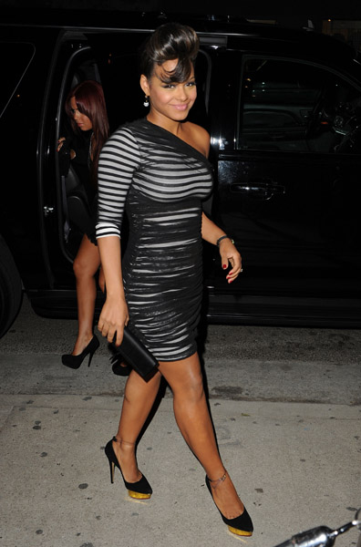 milian 3 Hot Shots: Christina Milian Debuts Post Baby Body