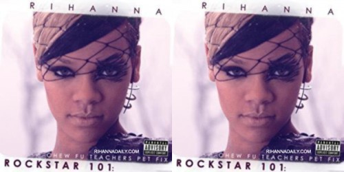 riri rock e1273923261712 Behind The Scenes Of Rihannas Rockstar 101 Video