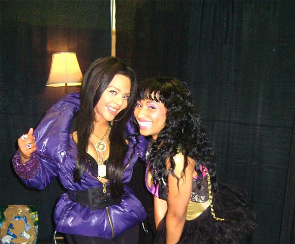 Lil Kim and Nicki Minaj have been going at each other throats recently