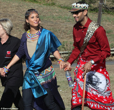 alicia swizz beats Hot Shots: Alicia Keys & Swizz Beats At Zulu Ceremony