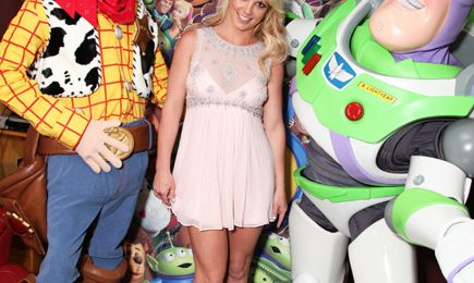 Hot Shots: Britney Spears At Toy Story 3 Premiere