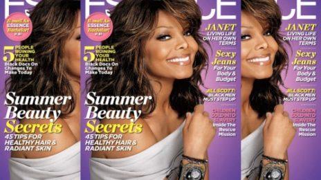 Janet Jackson Covers Essence
