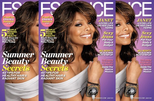 janet essence 1 e1277920542479 Janet Jackson Covers Essence