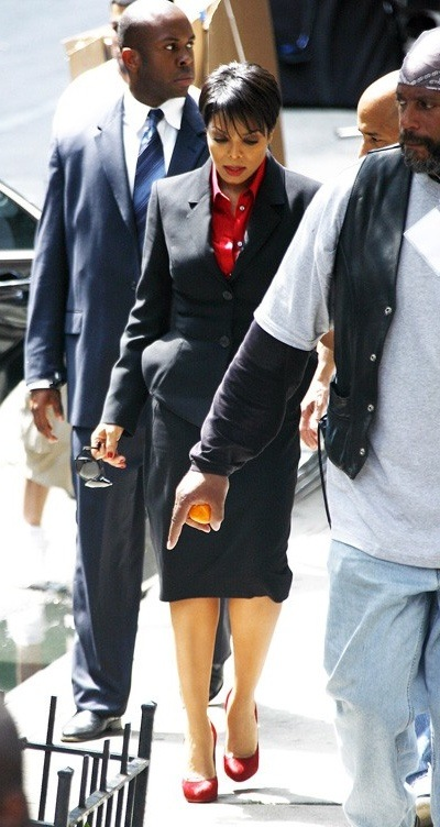 janet girls 4 Hot Shots: Janet On Set Of New Tyler Perry Movie