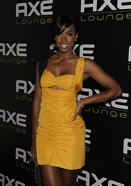 kelly 33 Hot Shots: Kelly Rowland At AXE Lounge