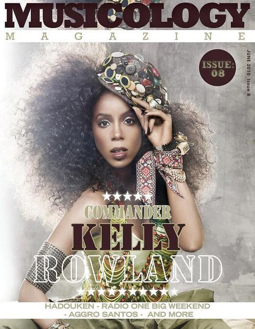 kelly music Kelly Rowland Covers Musicology Magazine / Commander Video Update