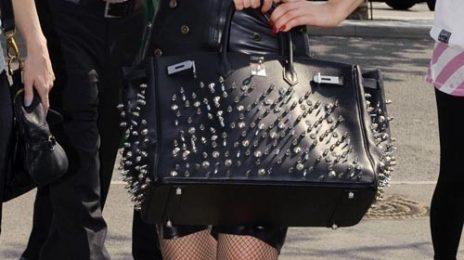 Hot Shots: Lady GaGa At Heathrow