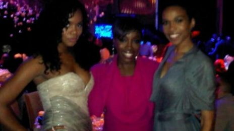 Hot Shot: LeToya & Michelle Williams At BET Pre-Party