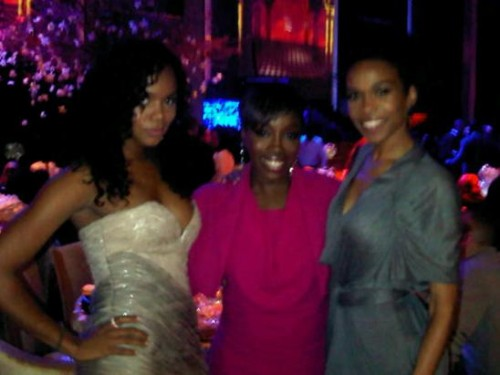 Hot Shot: LeToya & Michelle Williams At BET Pre Party