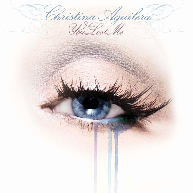 lost Christina Aguilera Unveils You Lost Me Single Cover