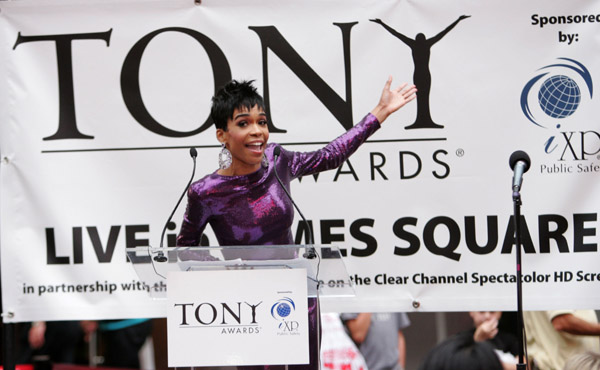 michelle 123 Hot Shots: Tony Awards 2010; Beyonce & Jay Z, Will Smith & Jada, Michelle Williams