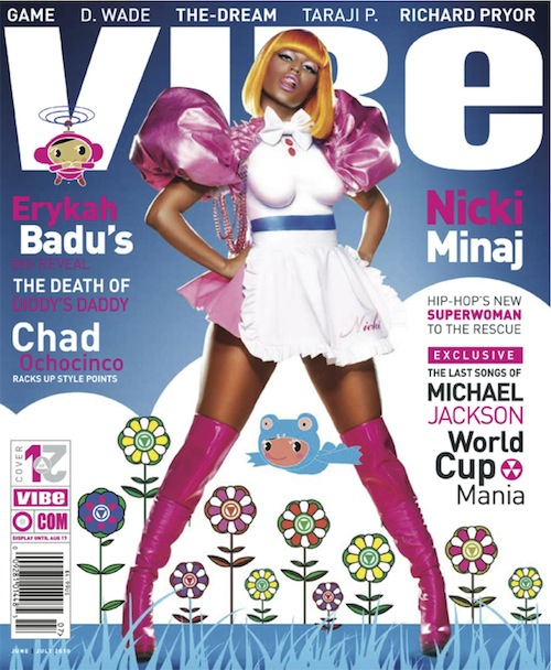 nicki Hot Shot: Nicki Minaj Covers VIBE