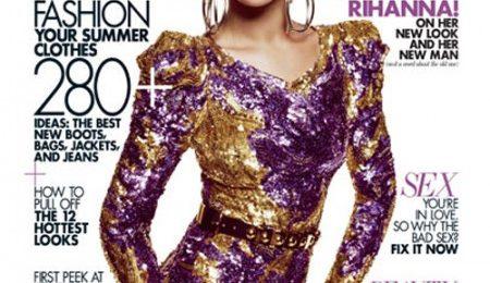 Rihanna Covers Elle