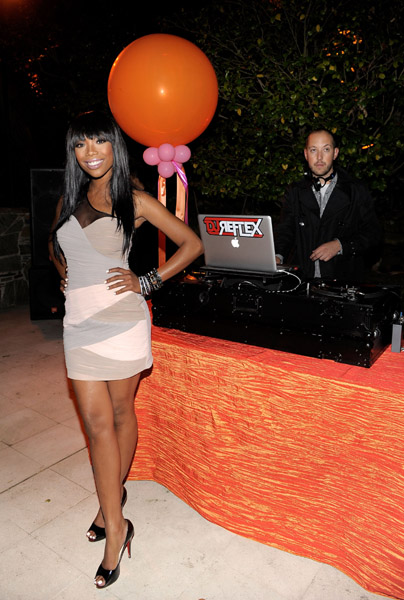 brandy77 Hot Shots: Brandy At Pre ESPY Party