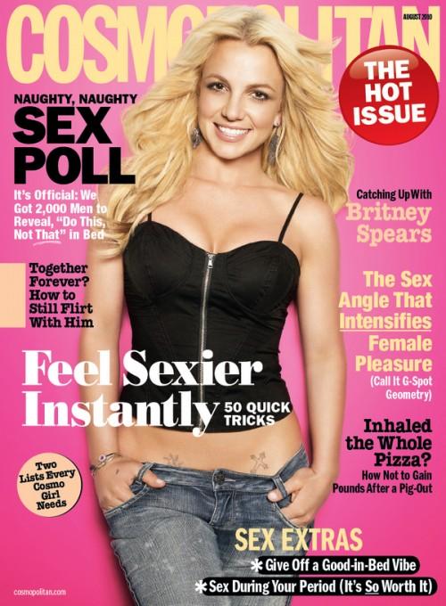 britney cosmo e1278370394814 Britney Covers Cosmopolitan
