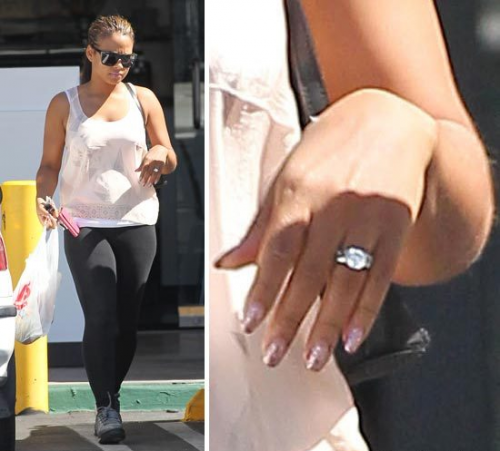 christina milian dream ring e1279106605736 Hot Shots: Milian Makes First Public Appearance Since Split; Still Wearing Ring