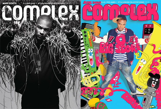 complex Hot Shot: T.I. & B.o.B. Cover Complex Magazine