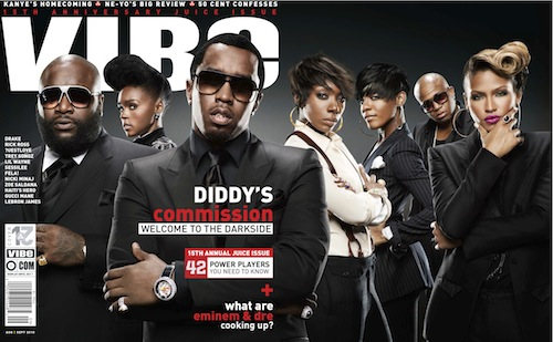 did Diddy Dirty Money Covers VIBE & Pushes Album Back To October