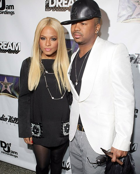 dream christina Official: The Dream & Christina Milian Separate