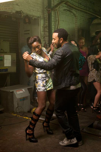 estelle john legend Hot Shots: Estelle Shoots Fall In Love Video