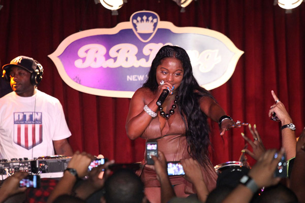 fox Hot Shots: Foxy Brown Performs In New York