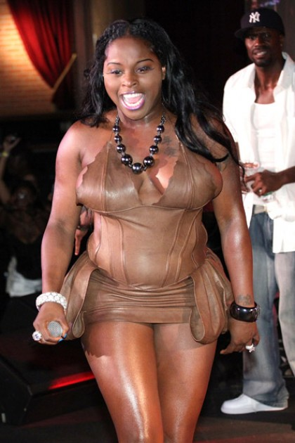 foxy brown 3 e1280215114447 Hot Shots: Foxy Brown Performs In New York