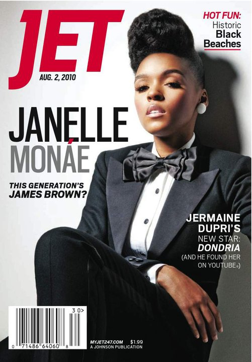 janjet Hot Shot: Janelle Monáe Covers JET